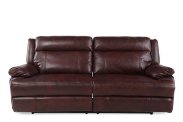 Picture of BRIGGS BURGUNDY POWER RECLINING SOFA - 023B