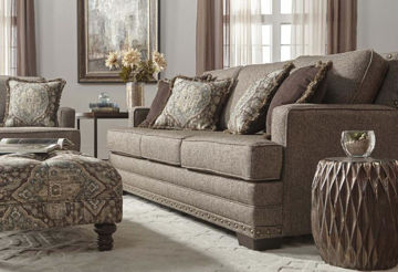Picture of MAL CAN BUCKHORN SOFA - 10100
