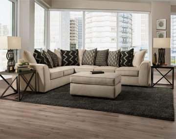 Picture of FAWN FRONTIER SECTIONAL - 2600