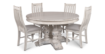 """Picture of VERONA 59"""" ROUND DINING SET - H8092"""