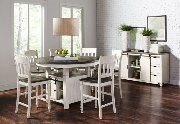 Picture of BAYRIDGE COUNTER HEIGHT TABLE - 1706