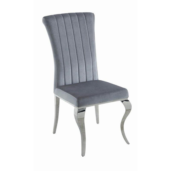 Picture of KEEGAN GREY DINING CHAIR - 105073