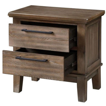 Picture of CAGNEY GRAY VINTAGE NIGHTSTAND - NC594