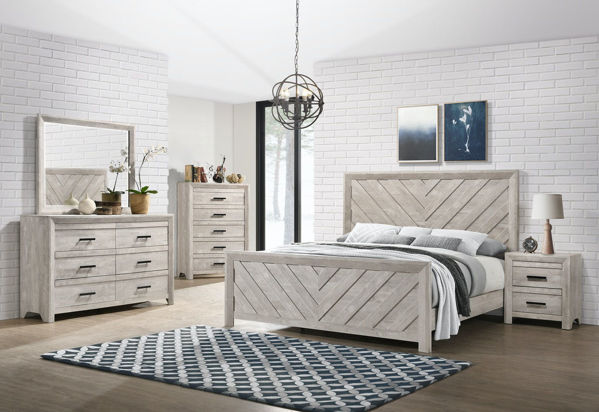 Picture of ELLEN QUEEN BEDROOM SET - EL700