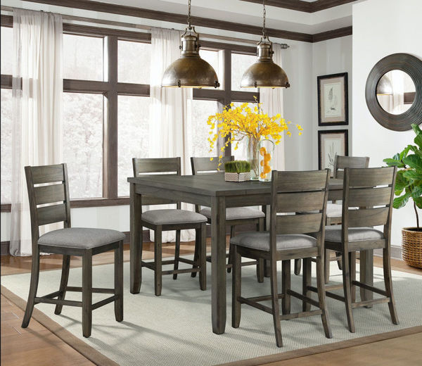 Picture of CATO GREY COUNTER HEIGHT DINING SET - DCT300