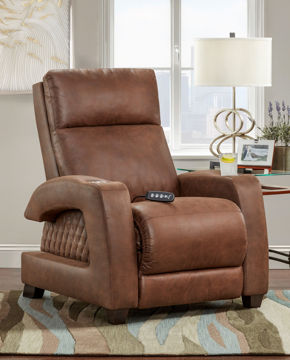 Picture of JETSON PEWTER ZERO GRAVITY SOCOZI RECLINER - 6075