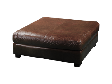 Picture of BECHAM CHESTNUT COCKTAIL OTTOMAN - 4522