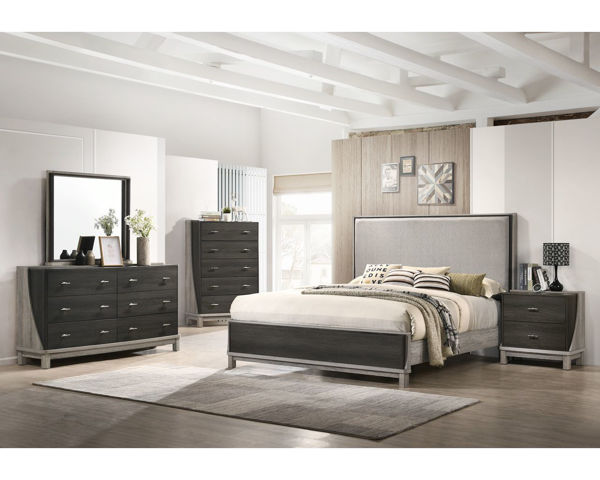 Picture of MADELINE QUEEN BEDROOM SET - 8451
