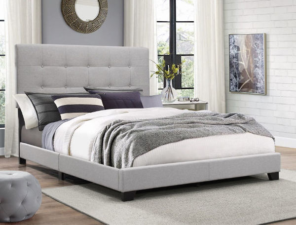 Picture of FLORENCE GREY QUEEN BED - 5270