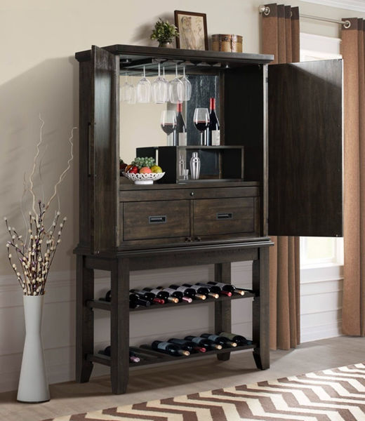 Picture of MORRISON WINE CABINET - DST100