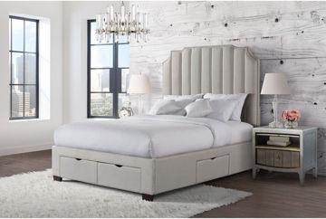 Picture of HARPER KING UPHOLSTERED STORAGE BED - 3151