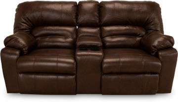 Picture of DAKOTA CHOCOLATE POWER RECLINING LOVESEAT - F113