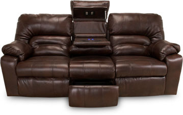 Picture of DAKOTA CHOCOLATE MANUAL RECLINING SET - F113