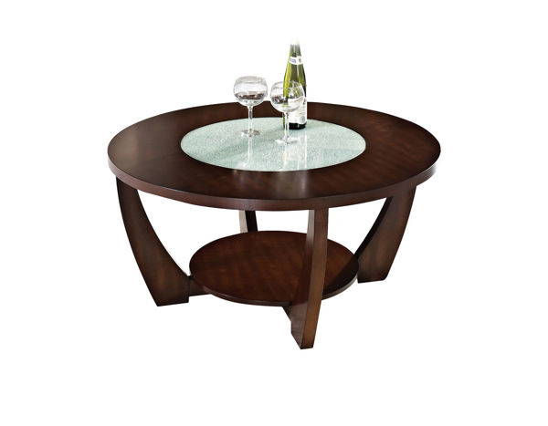Picture of RAFAEL MERLOT ROUND COCKTAIL TABLE - RF300