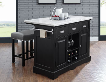 Picture of ASPEN KITCHEN ISLAND SET - AS380