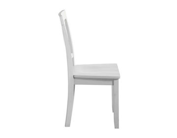 Picture of NAPLES WHITE SIDE CHAIR - NA500