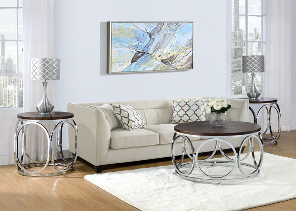 Picture of ALEXIS END TABLE - CAX100