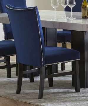 Picture of CAMILLA BLUE  DINING CHAIR - 8571