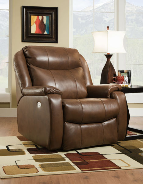 Picture of BIG MAN COCOA WALL SAVER RECLINER  - 6240