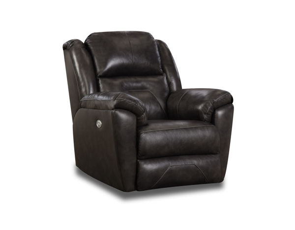 Picture of LATITUDE FOSSIL LEATHER RECLINER - 751