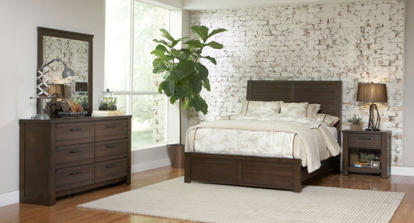 Picture of DRIFTWOOD KING BEDROOM SET - SL076
