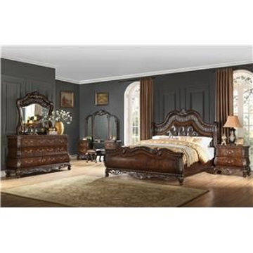 Picture of BALI KING BEDROOM SET - B003