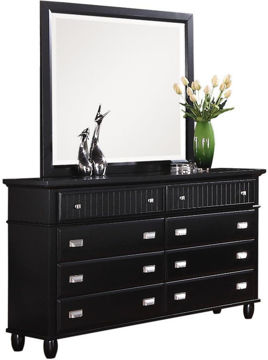 Picture of SPENCER BLACK DRESSER - SP800