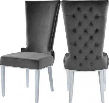 Picture of STRATOS GREY DINING CHAIR - 729