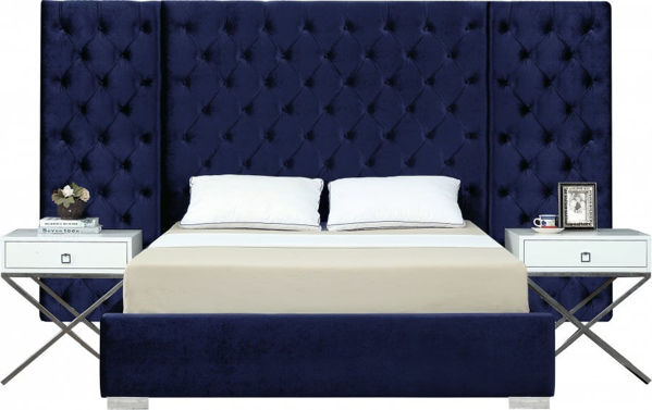 Picture of GRANDE NAVY KING WALL BED - 890