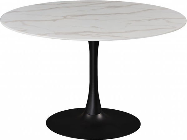 """Picture of TULIP 48"""" ROUND DINING TABLE - 977"""