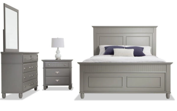Picture of SPENCER GREY TWIN BEDROOM SET - SP400