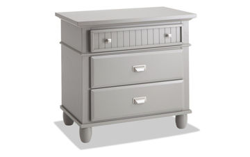 Picture of SPENCER GREY QUEEN STORAGE BEDROOM SET - SP450