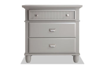 Picture of SPENCER GRAY NIGHTSTAND - SP400