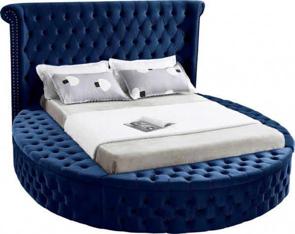Picture of LUXUS NAVY KING BED