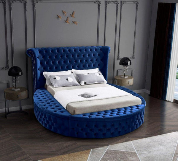 Picture of LUXUS NAVY QUEEN BED