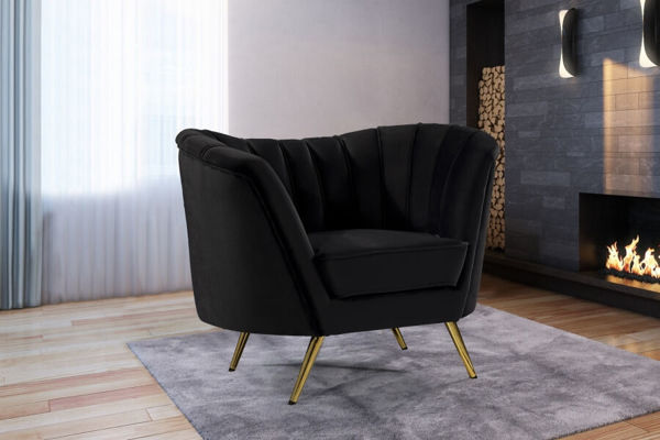 Picture of MARGO BLACK CHAIR - 622