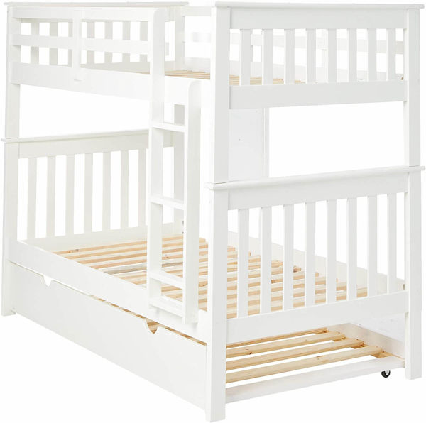Picture of MISSION WHITE TWIN/TWIN BUNKBED - 120