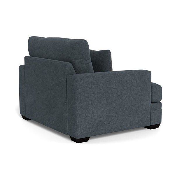 Picture of CARSON SLATE CHAIR AND A HALF - 1156