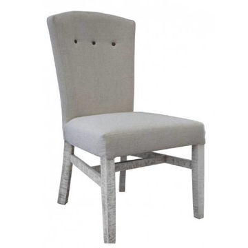 Picture of NAPOLEON IVORY UPHOLSTERED DINING CHAIR - IFD4111