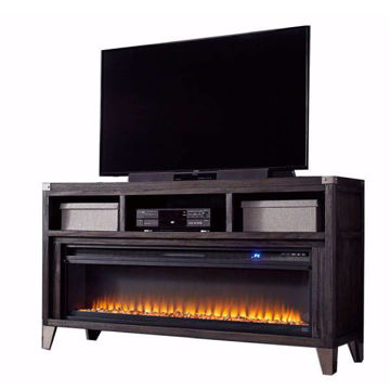 """Picture of TOLEDO 65"""" TV STAND W/ ELECTRIC FIREPLACE - W901"""