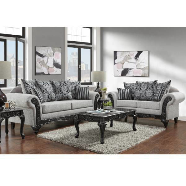 Picture of HOMERUN GREY LIVING ROOM - 4910