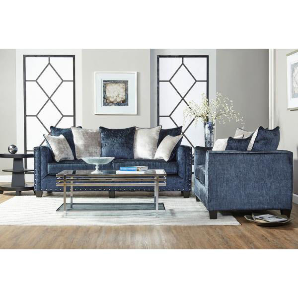 Picture of BLISS MIDNIGHT LOVESEAT - 4885