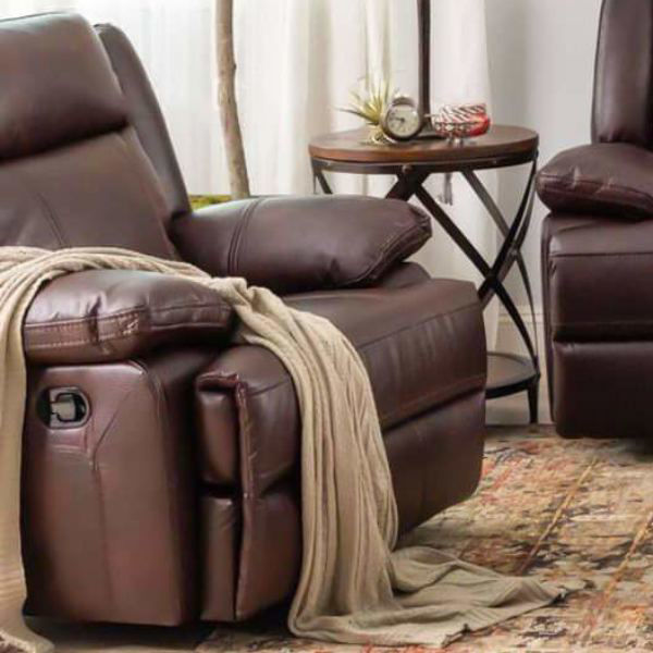 Picture of BRIGGS BURGUNDY POWER RECLINER - 023B