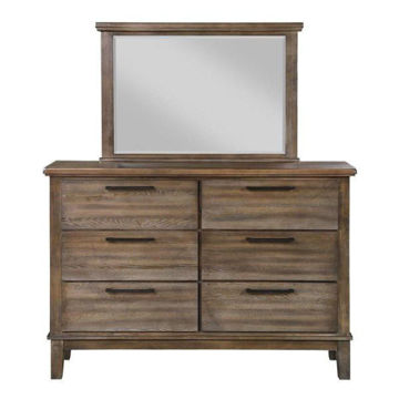 Picture of CAGNEY GRAY VINTAGE DRESSER - NC594