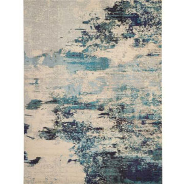 Picture of COSMIC RUG IVORY BLUE 9X12