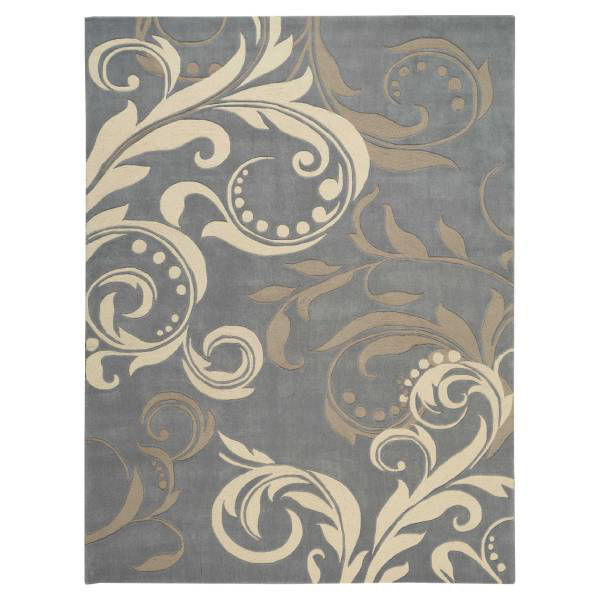 Picture of TAZA RUG SILVER 8X10