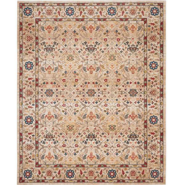Picture of CHARM RUG IVORY 8X11