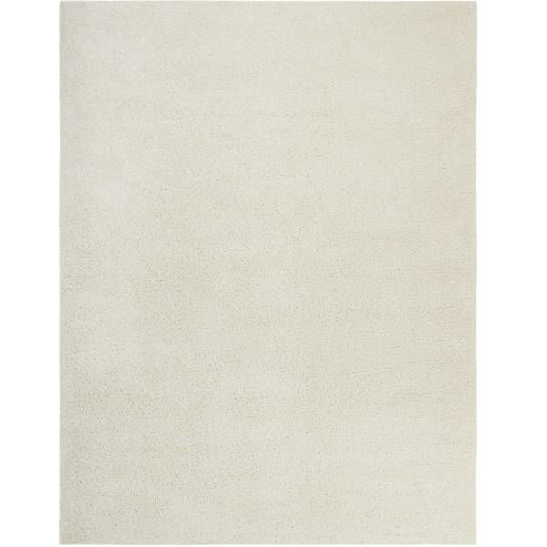 Picture of LUCA SHAG RUG IVORY 7X9