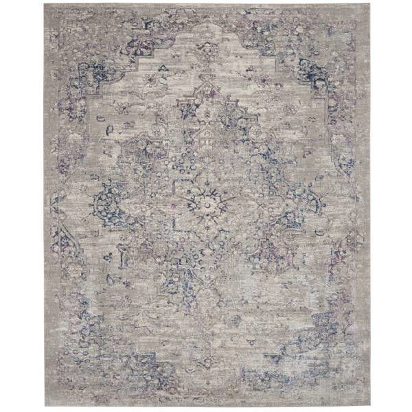 Picture of EMMA RUG BEIGE BLUE 8X11