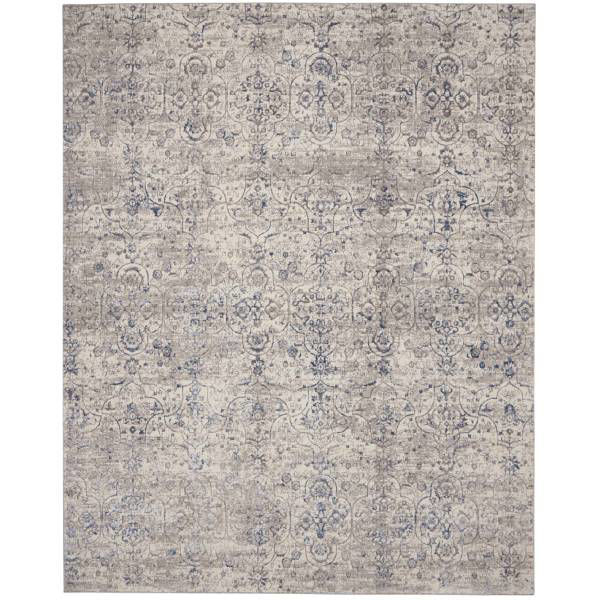 Picture of EMMA RUG BEIGE BLUE 7X9